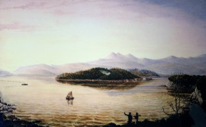 The Island Painting