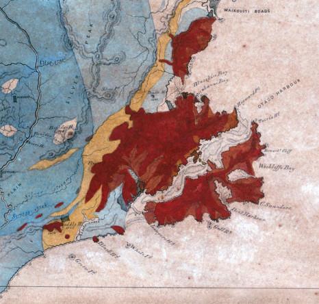 Dunedin volcano (red)