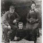 John and Elizabeth Dougall and son Will, late 1880s.